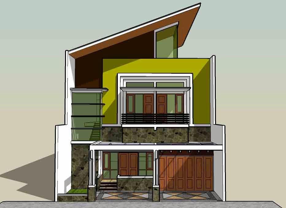 Desain  Rumah  Minimalis Terbaru  2014 Update Desain  Rumah