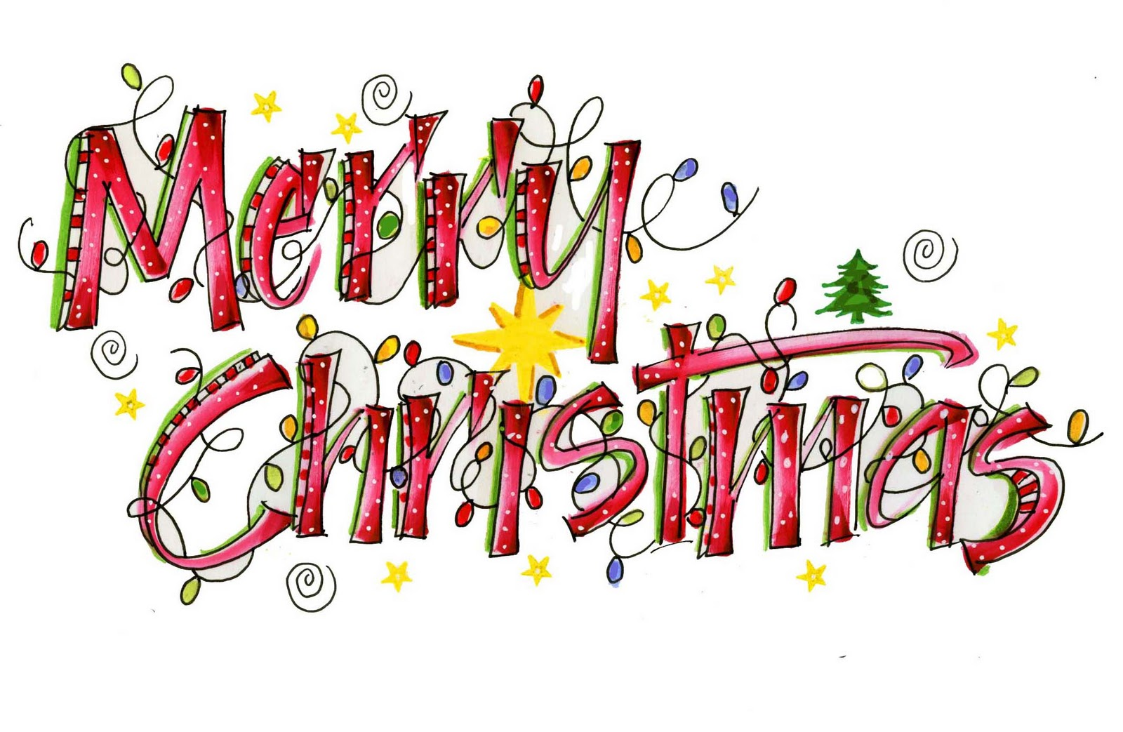 Merry Christmas Clip A...