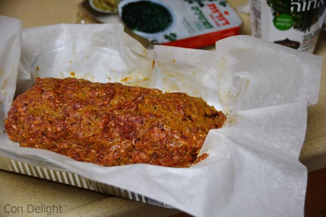כיכר בשר השבת בתנור baked in the ocen meatloaves