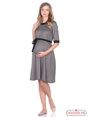 vestidos para embarazadas de invierno