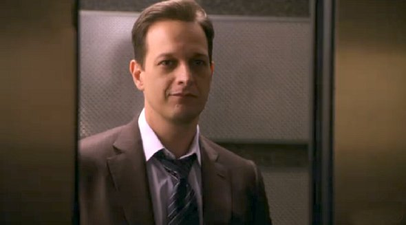 The Good Wife - Will in elevator as the doors about to close on him