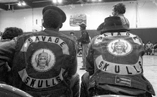 Hoe Avenue - reunión de bandas callejeras en el Bronx en 1971