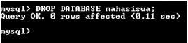Membuat Database di MySQL