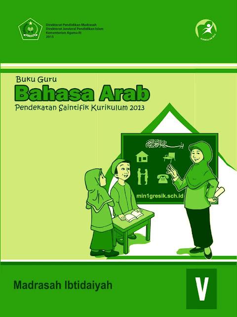 buku guru mata pelajaran bahasa arab kelas 5 madrasah ibtidaiyah kurikulum 2013