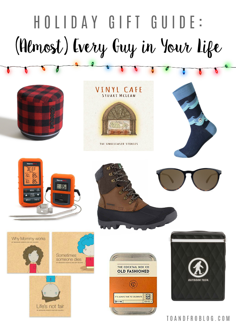 Holiday Gift Guide: For (Almost) Every Type of Guy