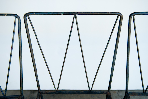 Heygreenie Mid Century Modern Rod Iron Patio Furniture