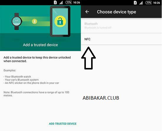 Perangkat Terpercaya NFC Android