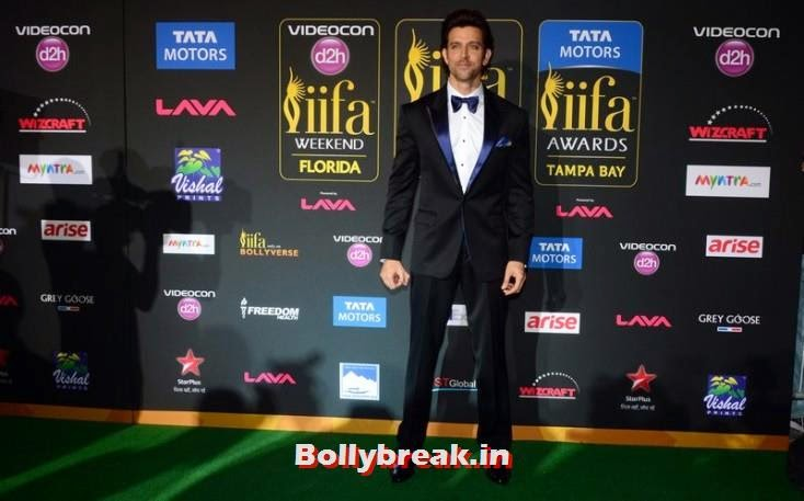 Hrithik Roshan, Bollywood Celebs sizzle on IIFA 2014 Green Carpet Pics