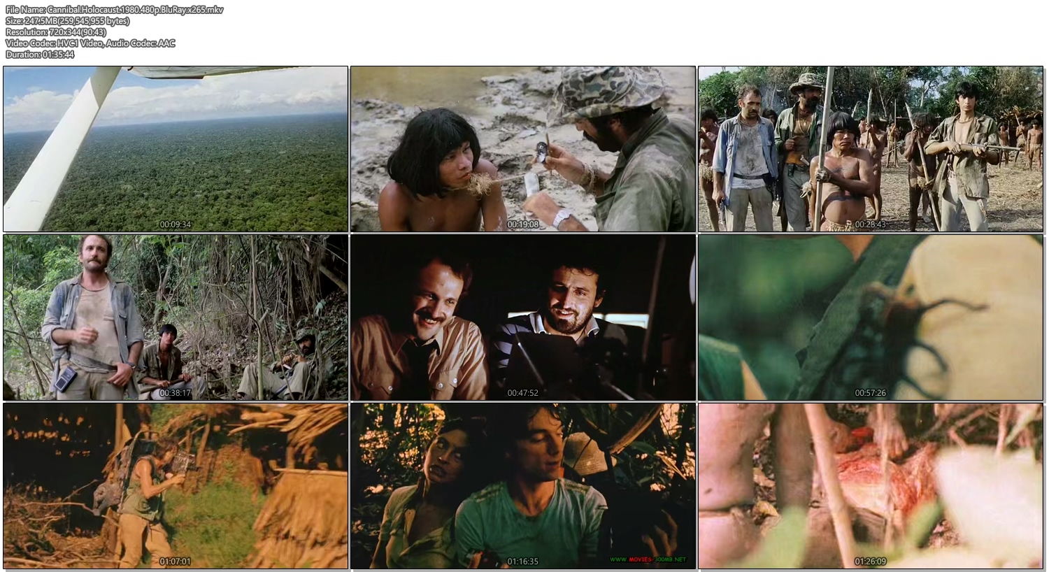 cannibal holocaust full movie download in hindi 300mb