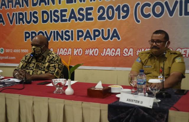 Klemen Tinal  Ungkap TIngginya Persentase Kesembuhan Corona di Papua Akibat Kinerja Satgas