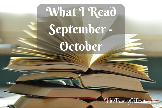 What I Read September - October 2019