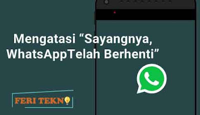 Sayangnya whatsapp telah terhenti - Feri Tekno