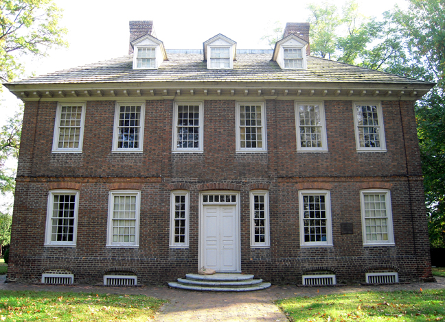 A Note of Friendship: Stenton House, Wyck House and Germantown!