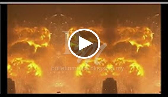 [VIDEO] TERKINI!! Kilang Senjata Israel Meletop, Hampir 300 Titik Api Baru Muncul Di Israel