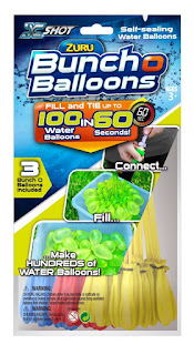 Enjoy with Kids to play Zuru Bunch Of Balloons (100 water balloons) Deal price £9.99