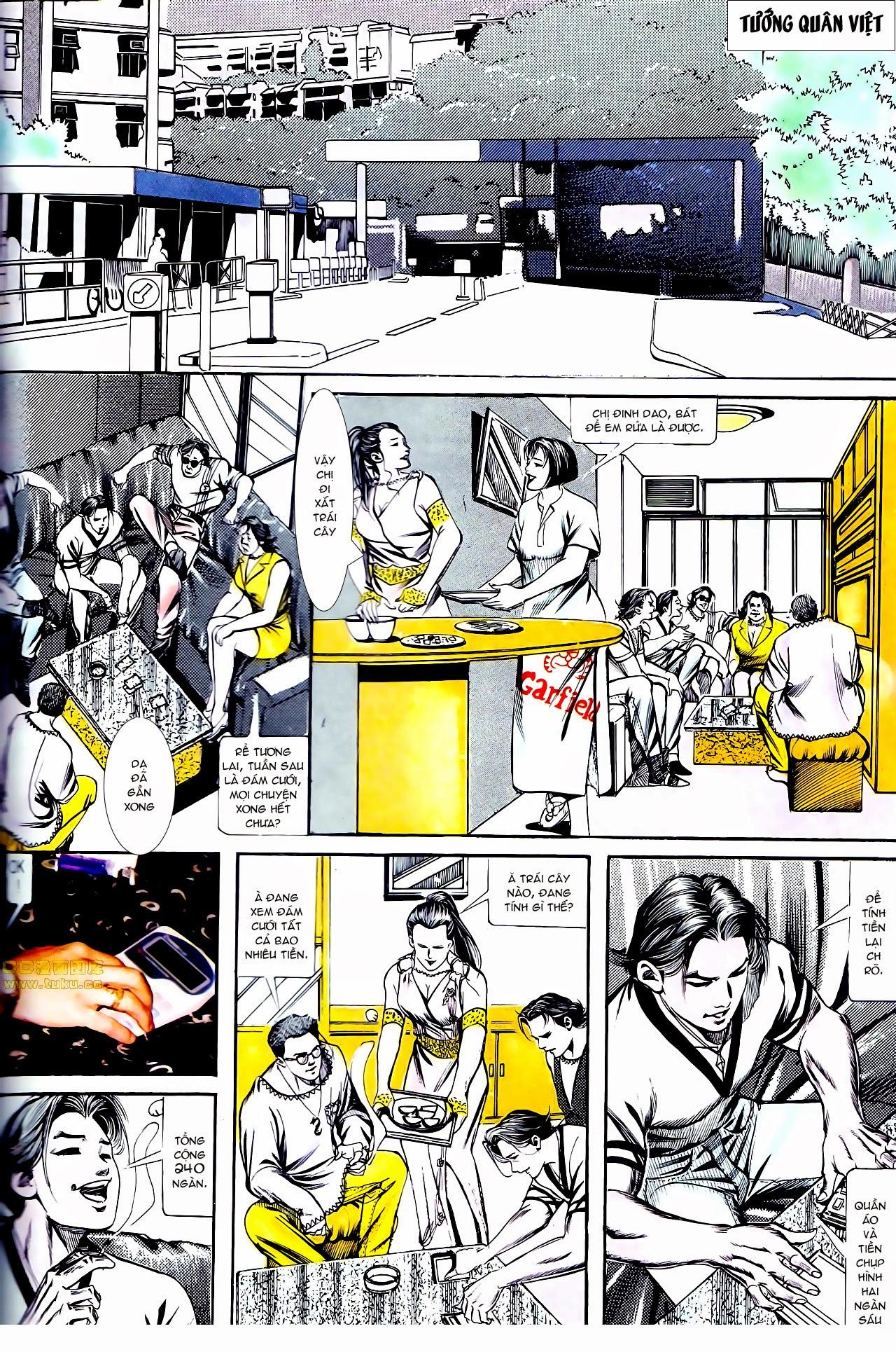 Người Trong Giang Hồ chapter 135: cạm bẫy rình rập trang 6