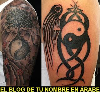 Tattoos de simbolos: Yin Yang