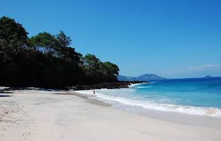 Pantai Bias Tugel di Padangbai, Manggis, Karangasem, Bali