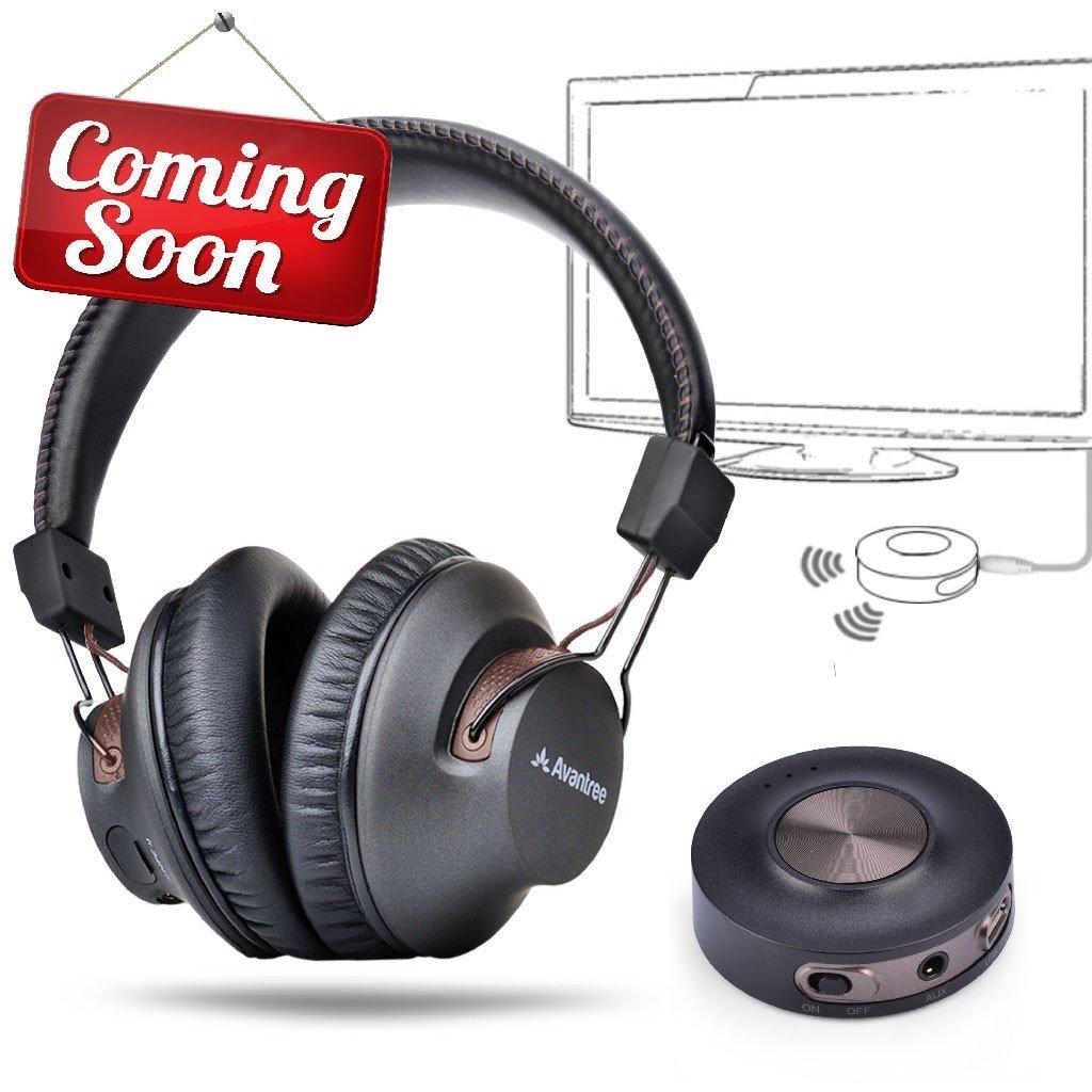 028ba6b5c65 Avantree HT3189 APTX Low Latency Wireless Solution Set for watching TV, Bluetooth  Headphone + Transmitter