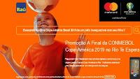 Promoção Itau Mastercard Copa América te espera copaamericaespera.com.br