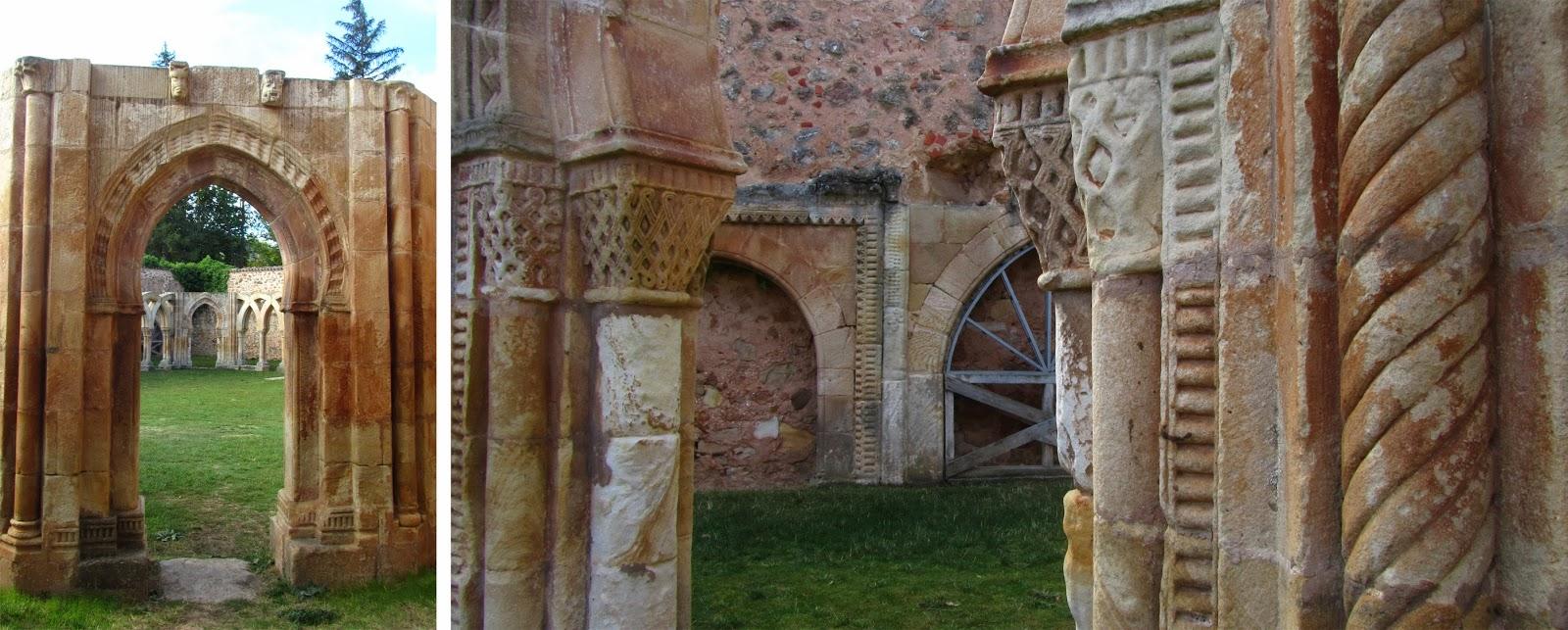 Detalles de los Arcos de San Juan