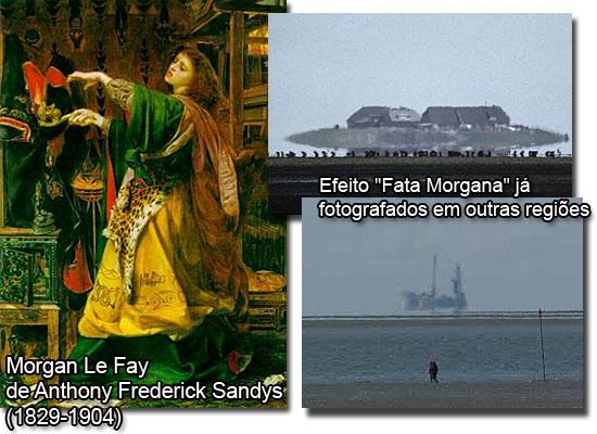 Morgal Le Fay de Anthony Sandys e efeitos Fata Morgana