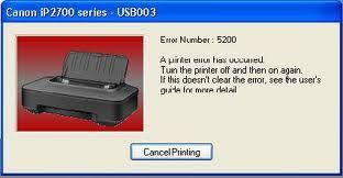 Mengatasi Error 5200 Printer Canon IP2770