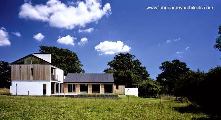 Casa de campo contemporánea en el Reino Unido