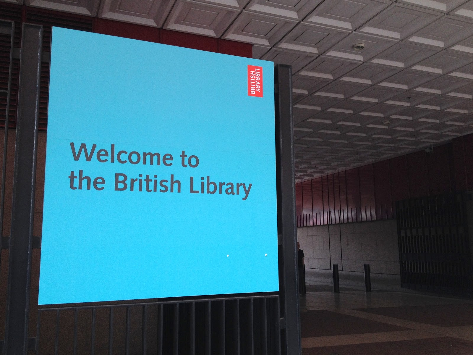 Tour The British Library