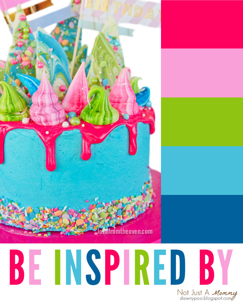 Be inspired by Love From The Oven's and her Katherine Sabbath inspired birthday cake!