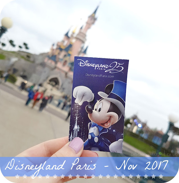 disneyland paris in november