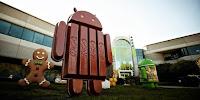 Boneka Maskot Google Android KitKat