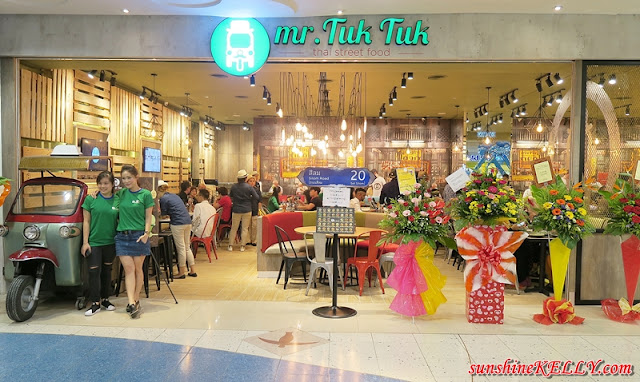 Thai Street Food, Mr Tuk Tuk, Sunway Pyramid, Setia City Mall