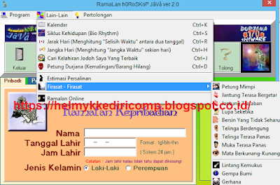 Download Software Horoskop Jawa Primbon