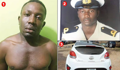 I Killed Naval Officer, Girlfriend For Owing Me But Spending Money On Her - Man confesses