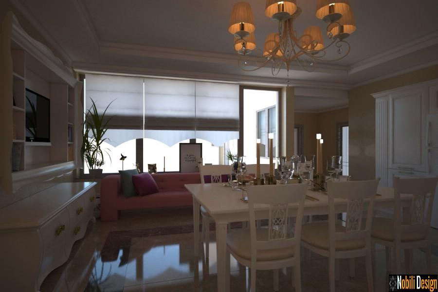Birou arhitectura interioare Galati - Amenajare interioara casa stil clasic in Galati