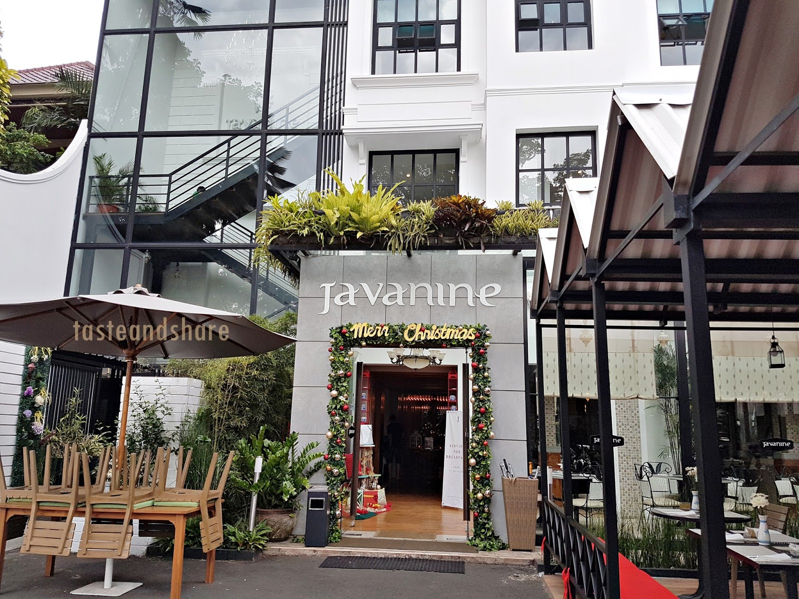 Review Javanine Resto Malang Food Craver