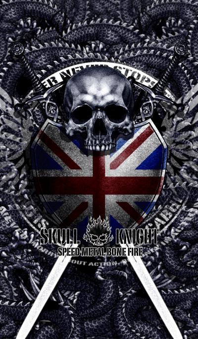 Skull knight union jack version