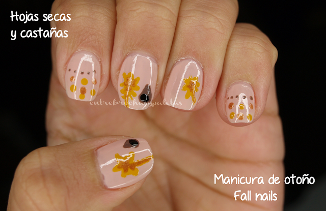 manicura otoño fall nails