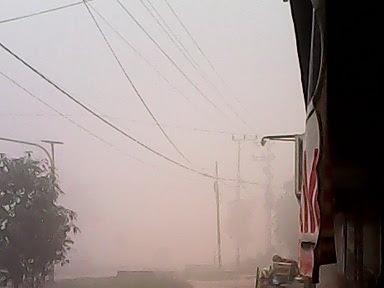 Kabut Asap Palangkaraya, Kalteng 2015