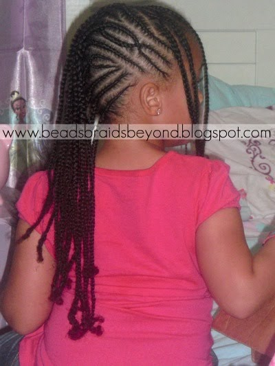 Beads Braids And Beyond Criss Cross Cornrow Style Remix