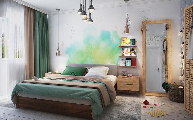 apartamento decorado 80 m² cheio de bossa. Blog Achados de Decoração