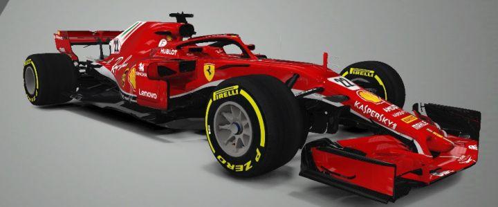 F1 Mobile Racing: 2018 Ferrari SF71H M&T - 3D Models Destination