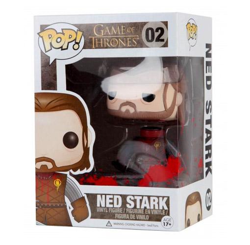 Ned Stark Vinyl Figure Funko Comic Con