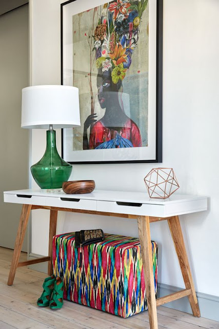 Ideas para decorar recibidores pequeños-18