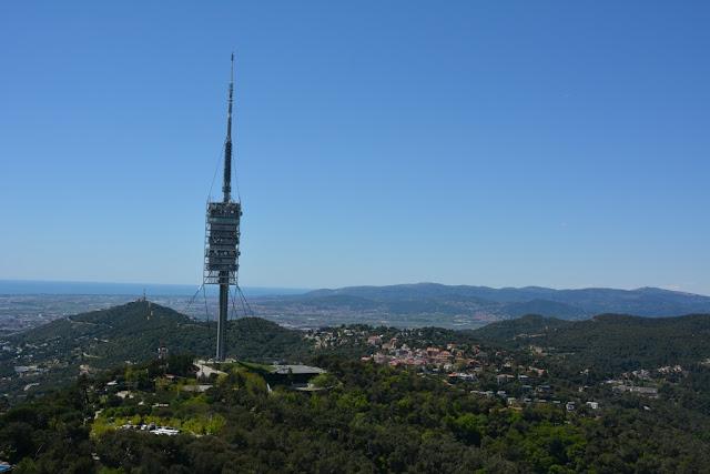 Tibidabo hill views