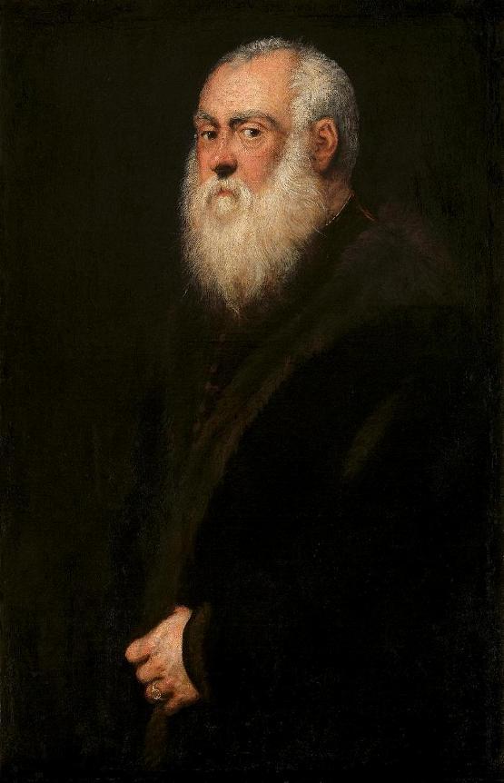 Tintoretto: Ritratto di vecchio dalla barba bianca – 1564  – Vienna, Kunsthistorisches Museum