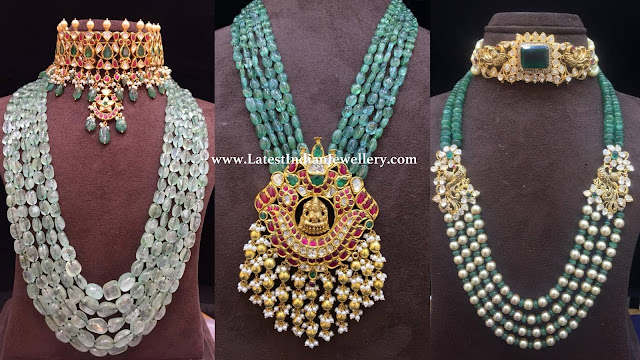 Latest Emerald Beads Collection