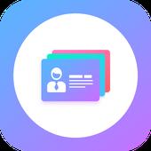 تحميل تطبيق Business Card Maker النسخة المدفوعة مصمم بطاقات الأعمال  باحتراف, Business Card Maker & Creator, انشاء بطاقة عمل أنيقة, facebook، إينستاجرام تويتر،