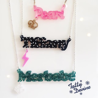 Tatty Devine Top 5 Perspex Acrylic Jewellery Designers Blog